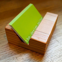 Business Card Holder Made of Locally Salvaged by TheDesignPallet