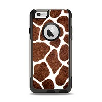 The Real Giraffe Animal Print Apple iPhone 6 Otterbox Commuter Case Skin Set