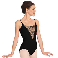 "Adult ""Vintage Whisper"" Camisole Leotard"