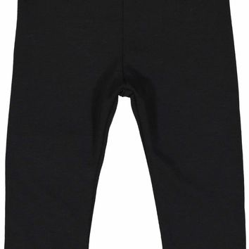 Lil Leggs Unisex-Baby Black Long Leggings