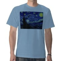 starry starry night tshirt from Zazzle.com