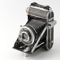 Welta Perle 120 Roll Film Folding Camera with Soft Case