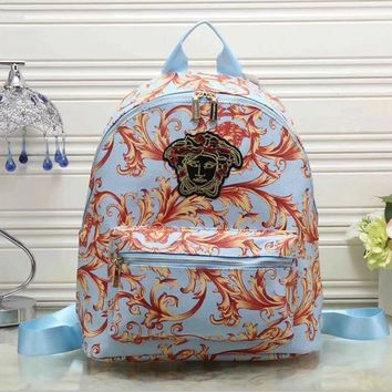 One-nice™ Versace Women Casual School Bag Backpack