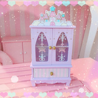 swimmer jp cute castle magical kawaii adorable jewellery box imported japan