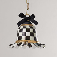 MacKenzie-Childs Small Courtly Check Pendant Lamp