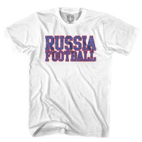 Russia Football Nation Soccer T-shirt
