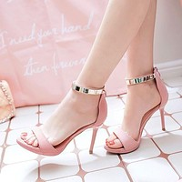 Design Club High Heel Shoes Summer Sexy Stylish Sandals [10788524111]