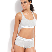 Calvin Klein Modern Cotton Bralette and Boyshort