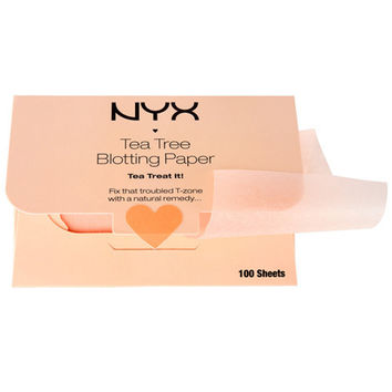 NYX - Tea Tree Blotting Paper - BPRTT