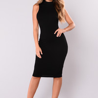 Rydell Midi Dress - Black