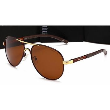 DCCKB62 Gucci Personality Women Casual Sun Shades Eyeglasses Glasses Sunglasses Brown G