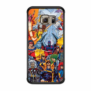 x men character collage samsung galaxy s6 s6 edge cases
