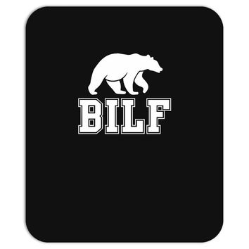 bilf, bear i'd like to Mousepad