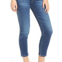 AG Prima Distressed Crop Cigarette Jeans (10 Years Cambria) | Nordstrom