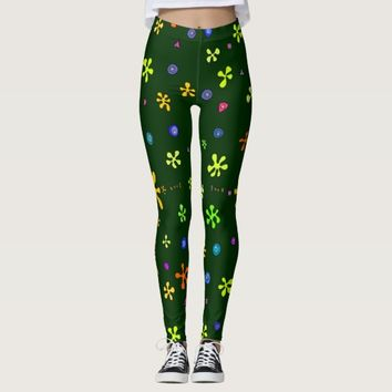 Stars and shells for leggings