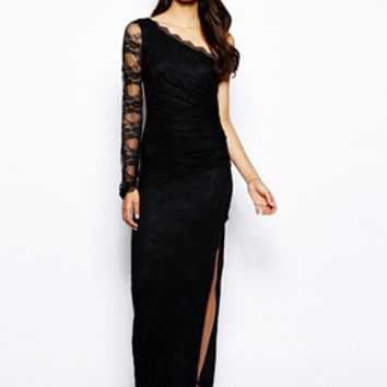 Jessica Wright Kerrie Lace Maxi Dress