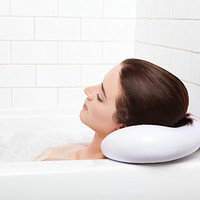Bath Pillow - Luxury Spa Bath Pillow with Heavy Duty Suction Cups - Includes Free Ebook. Supreme Spa Pillows - Fits in Any Size Bathtub - Jacuzzi - Spa - Hot Tub. Best Home Bathtub Bubble Spa Day , Everyday! Top Mother's Day Gift.