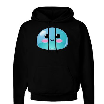Cute RPG Slime - Blue Dark Hoodie Sweatshirt by TooLoud