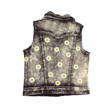 Smiley Daisy Vest