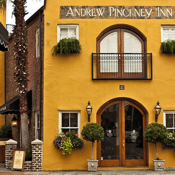 Andrew Pinckney Inn Charleston SC 8x10 photos, Color and B&W Fine Art Photography, South Carolina Photos, wall art,
