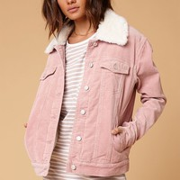 PacSun Sherpa Corduroy Trucker Jacket at PacSun.com