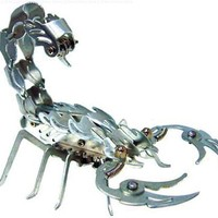 OWI Samurai Scorpion Aluminum Skulpture Kit