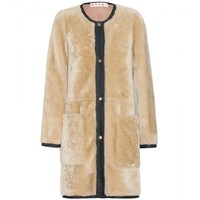 marni - shearling coat