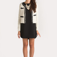 Bianca Gold and Cream Tweed Jacket