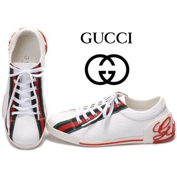 Gucci Women Or Men Fashion Cool Edgy Sports Shoes