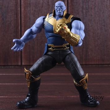 SHF Figuarts Avengers Infinity War Marvel Thanos Action Figure Toy PVC Collectible Model Toys for Boys