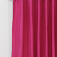 Dyed Solid Back Tab Curtain Panel