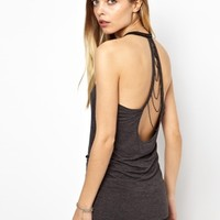 Noisy May Backless Tank Top