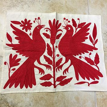 Otomi Placemat Red
