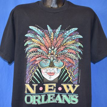 90s New Orleans Mardi Gras t-shirt Extra Large