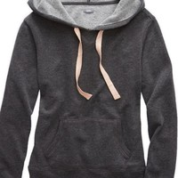 Aerie Women's Hooded Sweatshirt (Iron Heather)