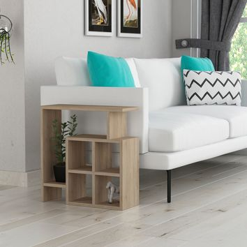 Costa Oak Side Table