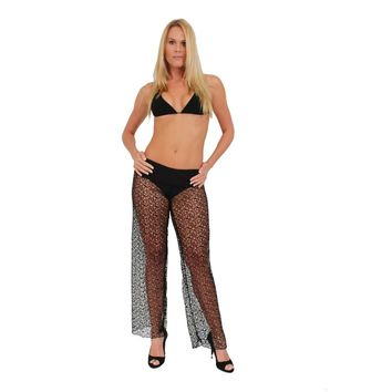 Waist Band Crochet Pants