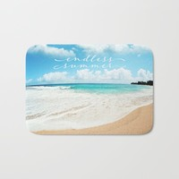 endless summer Bath Mat by sylviacookphotography