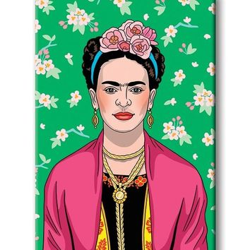 Self-Portrait (Frida) -- Magnet
