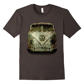 Zombie mobile hippy van tee shirt