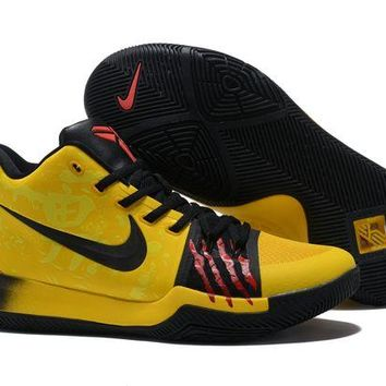 DCCK Nike Kyrie Irving 3 'Bruce Lee' Sport Shoes US7-12