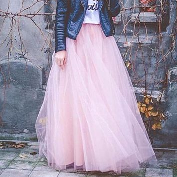 Birthday Girl Tulle Skirt Adult Tutu