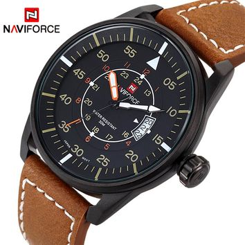 NAVIFORCE NF9044M Sports Men Quartz Ultra Thin Dial Sports Military Watch