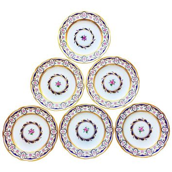 Exceptional Set of Sevres Dinner Plates