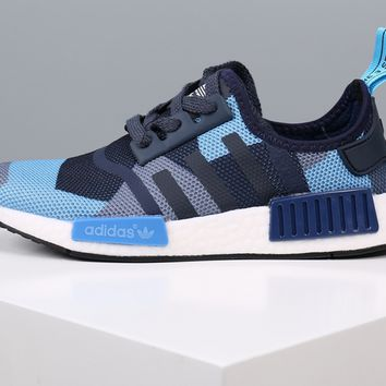 Adidas NMD Boost Women Men Camouflage Running Sport Casual Shoes Sneakers 58dec390a3f0