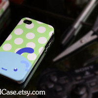 Fullcase iPhone 4 Case iPhone 4s Case iPhone 5 Case  Full Case cartoon Cute polka dot monster