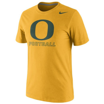 Nike Oregon Ducks 2014 Football Practice Legend Dri-FIT Performance T-Shirt - Yellow