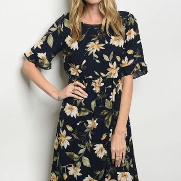 Nicola Floral Dress