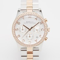 Marc By Marc Jacobs Henry Mixed Metal Bracelet Watch MBM3106