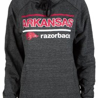 Official NCAA University of Arkansas Razorbacks GO BIG RED HOGS! Arkansas Fight! Buttersoft Adult Hoodie - Unisex, Triblend, Women's